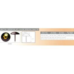 Гвоздь мебельный декоративный N701