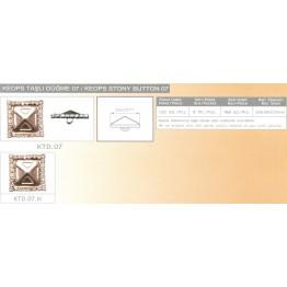 Пуговица мебельная декоративная KTD.07-KTD.07.N